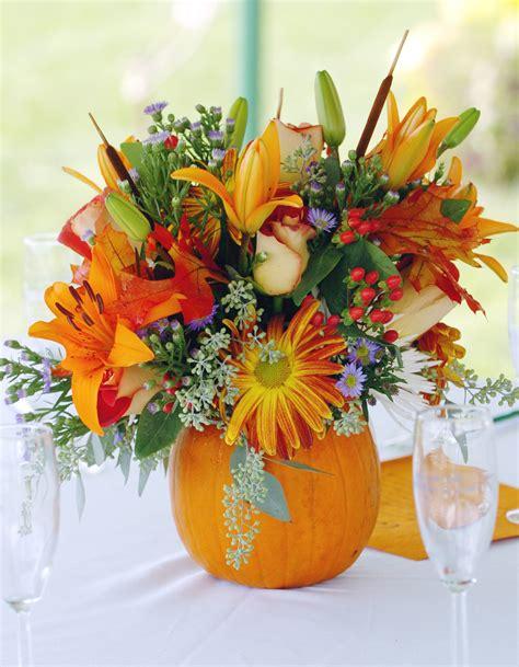 pumpkin center pieces thanksgiving floral centerpieces