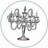Candelabra Drawing Domenico Crisci Customer Per Getdrawings sketch template