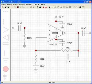 A Ne5532 Audio Preamplifier Circuit Diagram Plotted By This System