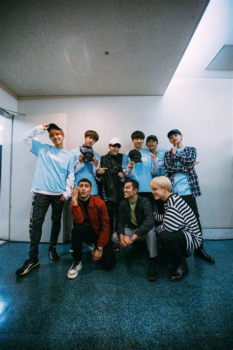 picture bts  quick style dancing crew