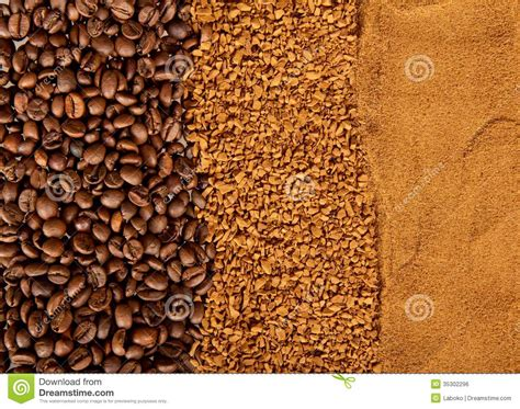 Grains, Instant And Ground Coffee Royalty Free Stock Image Mcdonalds Coffee Calories Ornament Intelligentsia Van Of The Month Club Mcdonald's Is Too Hot Additive Seattle Gear Indiana Lakeview
