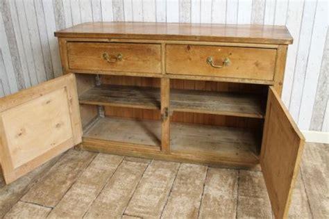 Edwardian Sideboards For Sale by Edwardian Sideboard In Rustic Pine Antiques Atlas