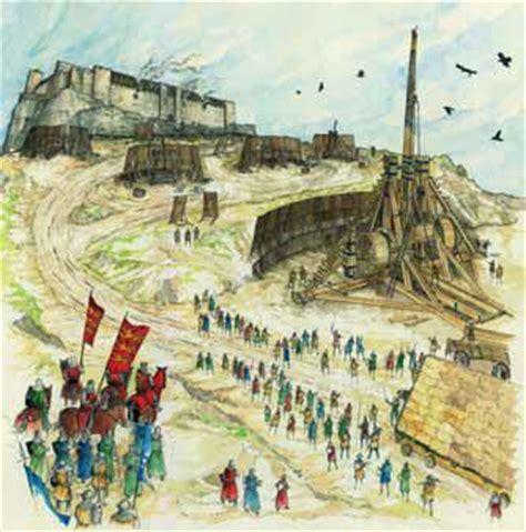 les hotels de siege les techniques de siège médiévales au bout de la route