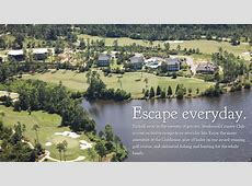 Steelwood Country Club A secluded, lakefront, private