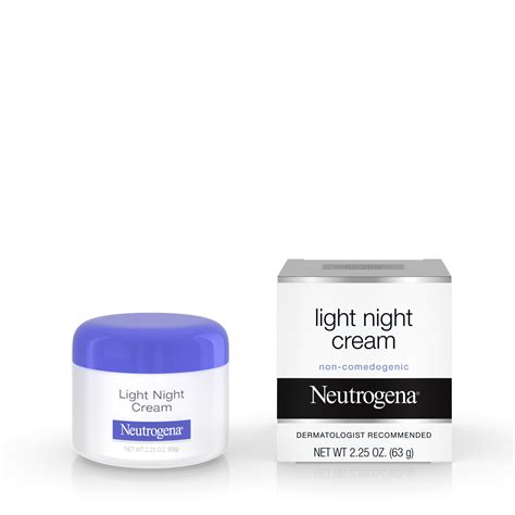 neutrogena light night cream neutrogena light night cream 2 25 oz healthy essentials