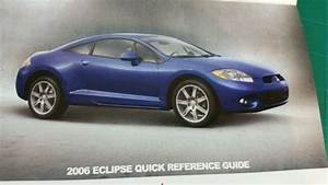 2006 Mitsubishi Eclipse Owners Manual Records Book