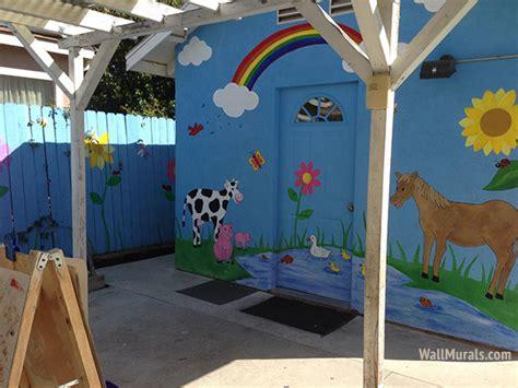 preschool wall murals daycare murals playroom mural 872 | daycare wall mural 640x480
