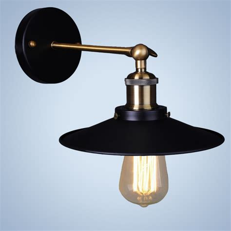 industrial wall sconce home lighting vintage fixtures wall