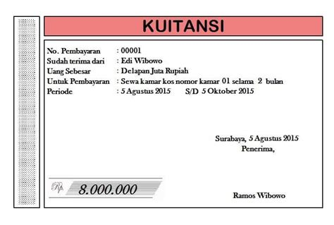 contoh surat perjanjian kontrak rumah sederhana contoh surat