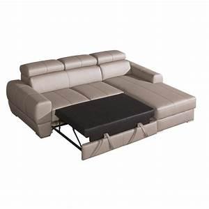 canape d angle en cuir maison design wibliacom With canapé en cuir d angle convertible