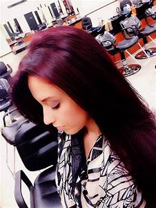 Violet Red Hair | HAIR, MAKEUP & NAILS | Pinterest | My ...