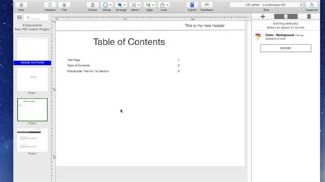 How To Change Document From Portrait To Landscape Mode