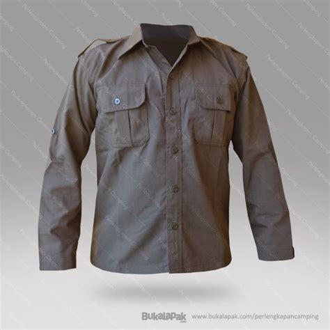 jual kemeja lapangan kemeja pdl kemeja outdoor baju lapangan baru perlengkapan naik