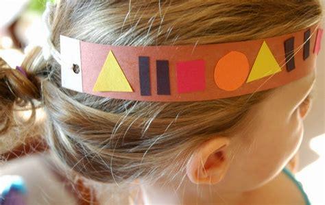 native american pattern headbands