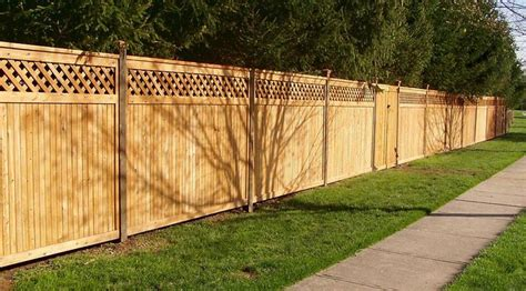wood fence height add lattice to extend height of privacy fence gardening pinterest lattices fence and