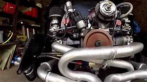 Modified 1969 Vw Beetle T1 Engine  Flat 4 Music