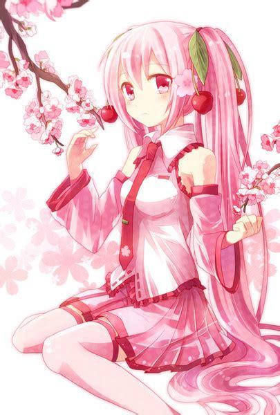 Cherry Blossom Wallpaper Anime 桜ミク Kurami さんのイラスト ニコニコ静画 イラスト
