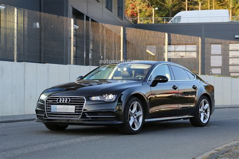 Spyshots: 2018 Audi A7 Chassis Testing Mule Seen For The