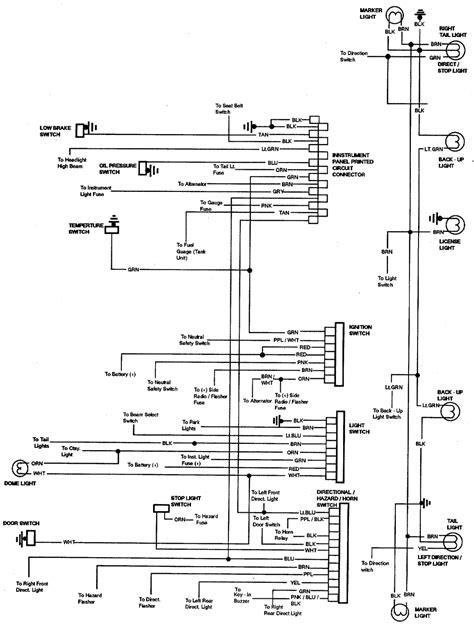 1965 Chevy El Camino Wiring Diagram by Repair Guides