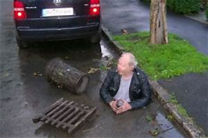 Drunk German Falls Into Open Drain, Gets Trapped By Beer ...