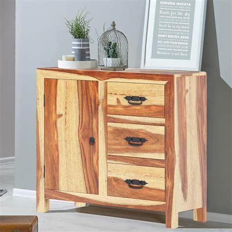 Wood Sideboard Cabinet by Ostrander Rustic Solid Wood 3 Drawer Sideboard Cabinet