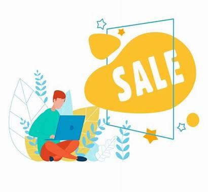 Cartoon Advert Laptop Vector Premium Frame