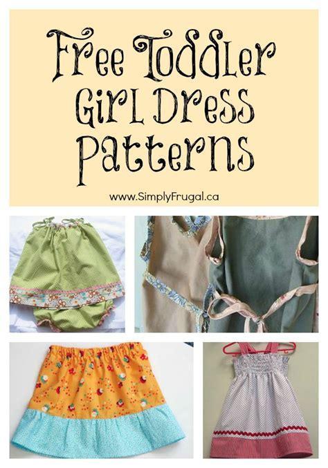 toddler girl dress patterns
