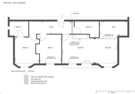 architectural electrical symbols diagram single  house plans