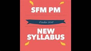 Sfm New Syllabus Practice Manual  Oct 2018 Edition