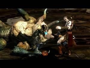 Minotaur Massacre - God of War: Ascension Gameplay - YouTube