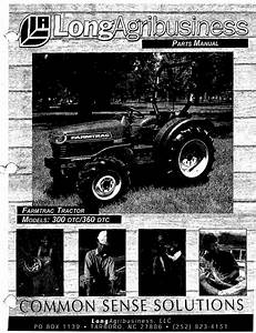 Farmtrac 300 Dtc Parts Manual For Long Agribusiness