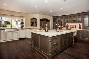 Distressed Wood Kitchen Cabinets of Best Colors for