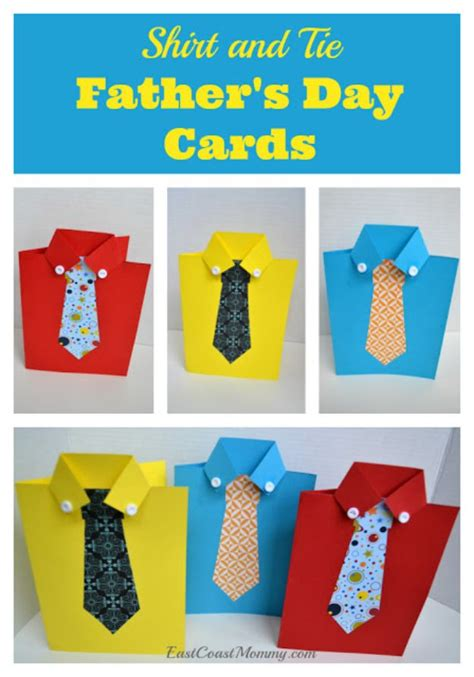 thoughtful diy fathers day cards