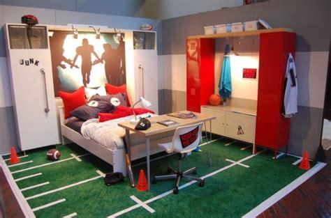 deco basketball chambre déco chambre ado murs en couleurs fraîches en 34 idées