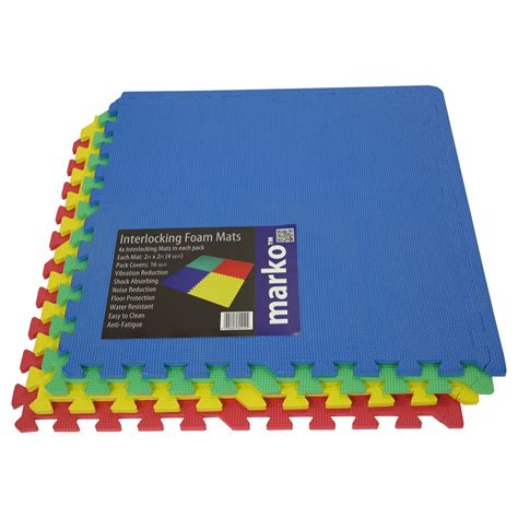 Sq Ft Interlocking Eva Soft Foam Exercise Floor Mats