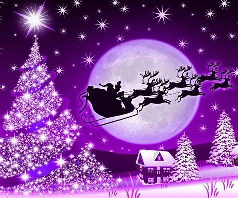 Weihnachtsbaum Lila Geschmückt by Weihnachten In Lila Winter Purple