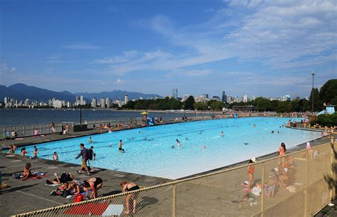 Kitsilano Pool Pool Players Making A Splash At Vancouver S Outdoor Pools