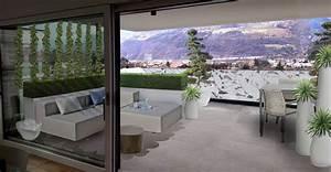 Terrazzo Moderno E Raffinato  Design By Verde Progetto