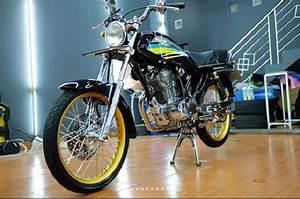 Kaya Abis Mandi Kucing  Honda Gl Pro Cdi Ini Kinclongnya Kebangetan