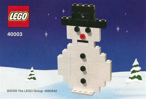 snowman brickset lego set guide