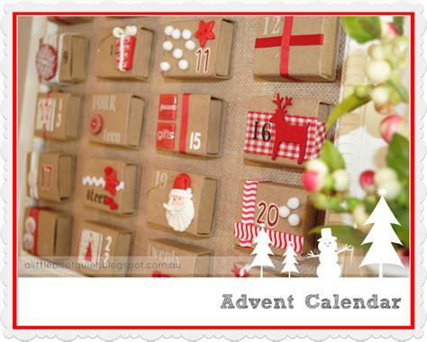 how to make advent calendar a little bit of quiet november 2012