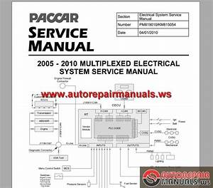 Keygen Autorepairmanuals Ws  Paccar Multiplexed Service Manuals