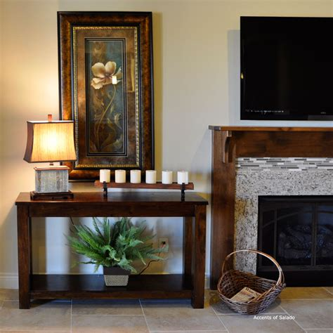 console living room decorate console table living room at home interior designing