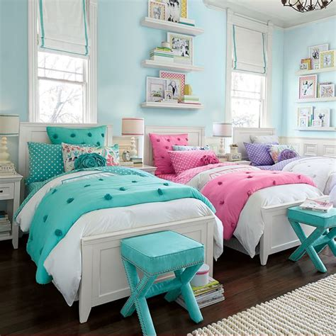cute girls' room  Cute Twin Bedrooms  Pinterest Room