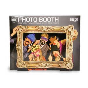idã e photobooth mariage box 51 photo booth large picture frame 24 props faces ebay