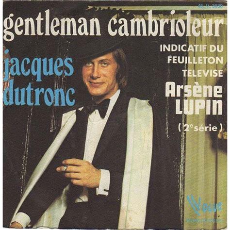 jacques dutronc t shirt album gentleman cambrioleur arsene lupin de jacques