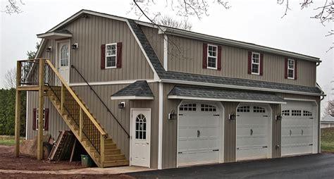 live in garage plans pictures 2 car garages built on site horizon structures