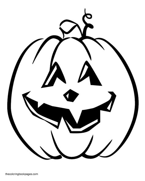 tall pumpkin colouring pages