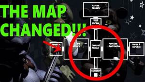 Sister Location Map Found In Fnaf 1