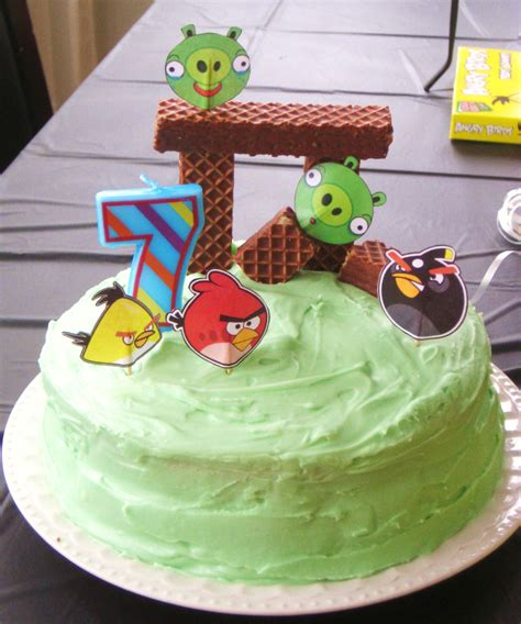 Diy Angry Bird Cake (this Is The Cake I Made) Make A